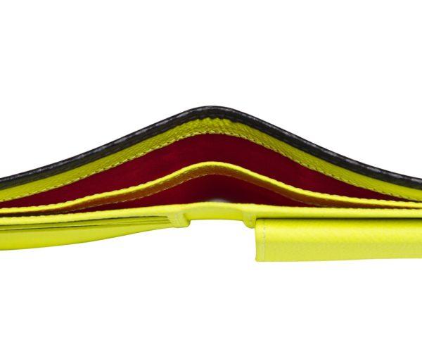 Cartera de lujo en piel y fibra de carbono edición 42